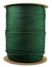 Emerald Green - 550 Paracord Rope 7 strand Parachute Cord - 1000 Foot Spool