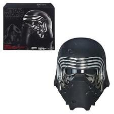 STAR WARS 7 TFA Official KYLO REN Voice Changer HELMET Black Series PROP REPLICA