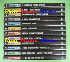 12 DVD DOCUMENTI 2004 OMNIA Scienza tecnica natura corpo umano PANORAMA no (D3)