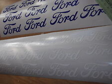 FORD.  HI - TEMP, QUALITY, CAST VINYL BRAKE CALIPER DECALS STICKERS x12