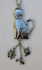 e kitty CAT lover CAR MIRROR CHARM JEWELRY REAR VIEW new driver ornament ganz