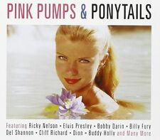 Pink Pumps & Ponytails 2-CD NEW SEALED Elvis/Dion/Gene Vincent/Eddie Cochran+
