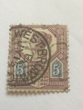 victorian jubilee issue ( imperial crown ) 5d .west bromwich frank