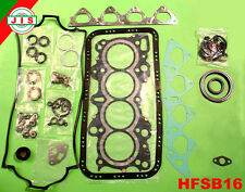 Honda 94-00 Civic Si Del Sol Vtec 1.6L DOHC B16A2 Full Gasket Set HFSB16