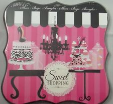 Wood Wall Art Picture Plaque Sign Chandilier Cake Cupcake Sweet Shopping