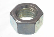 NEW HEX HEAD NUTS 12MM M12 , FINISH - BZP BRIGHT ZINC PLATED STEEL ( pack 20 )
