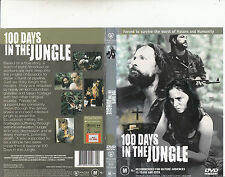 100 Days In The Jungle-2002-Michael Riley-Movie-DVD