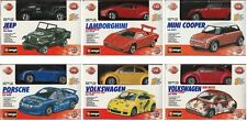 Bburago 1:43 Metal Kit Collection Diecast Lot Of 6 YOUR PICK - SALE 10% OFF