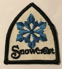 SNOWCREST Lost Ski Area 1969-1985 Skiing Patch Somerset Wisconsin WI Travel