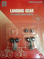 Hogan Wings 5279 aribus A330 Wheel Landing Gear Set w/ rubber tires