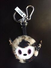 COACH Baseman BUSTER Le Fauve Limited Edition Key Chain Charm Purse Bag Fob NEW
