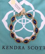 Kendra Scott Jana Bracelet NWT in Black Iridescent Discontinue and Sold OUT! $90