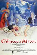 Company Of Wolves Poster 01 A3 Box Canvas Print