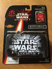 1998 Star Wars Episode 1 Sea Creatures Battle Bags, MIP Factory Sealed