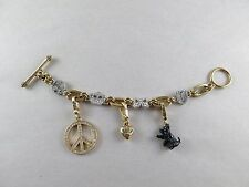 Juicy Couture Rare Charm Bracelet with 3 Charms [2219]