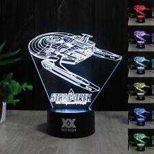Star Trek USS Reliant 3D Acryl LED Tischleuchte Tischlampe Nachtlicht Geschenk