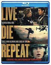 Live Die Repeat: Edge of Tomorrow (Blu-ray), New, Free Shipping