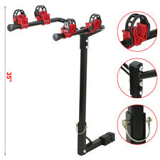 Bike Rack 2 Bicycle Hitch Mount Carrier Car Truck Auto 2 Bikes New Heavy Duty