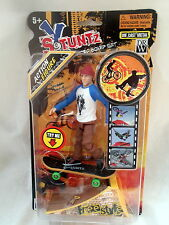 X Stuntz Die Cast MICRO Skateboarder + ACTION MAN + Freestyle RAMP 5yr+ New