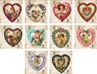 Vintage antique heart Valentine 2