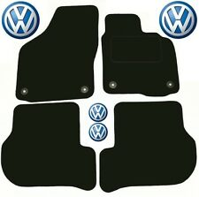 Golf Car Mats MK6 FSI TFSI GTi TDi VW Volkswagen Tailored Deluxe Quality 3dr 5dr
