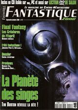 FANTASTIQUE ZONE N° 2--PLANETE DES SINGES/FINAL FANTASY/BURTON/RESIDENT EVIL