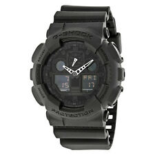 Casio G-Shock Classic Series Analog-Digital Black Dial Black Resin Strap Mens