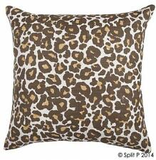 "Leopard 18"" Cotton Pillow Cover"