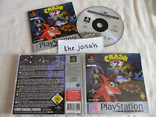 Crash Bandicoot 2 Cortex Strikes Back PS1 (COMPLETE) Sony PlayStation platinum