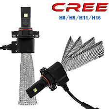 40W 5000LM H8 H9 H11 H16(JP) Cree  LED headlight Bulb Canbus HID Halogen Ford
