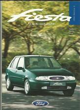FORD FIESTA ENCORE, LX, Si, GHIA & GHIA X SALES BROCHURE OCTOBER 1996 FOR 1997