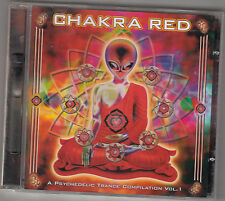 CHAKRA RED - A Psychedelic Trance Compilation Vol. 1  CD