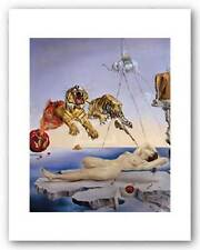 TIGER ART PRINT Dream Caused by the Flight of a Bee Salvador Dali