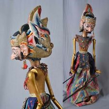 1 Holz Puppe Wayang Golek Marionette Original rod puppet GO36