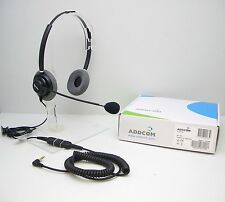 ADD330 Headset with ADDQD-07 QD cord for Alcatel 4028 4029 4038 4039 4068 Phones