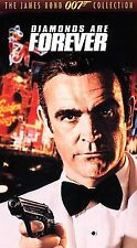 Diamonds are Forever [VHS] Sean Connery, Jill St. John, Charles Gray,  B8