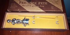 Vintage 1960's Pee Wee Pete  The Life Of Every Party Beer Dispenser