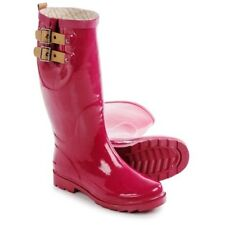 CHOOKA TOP SOLID PINK WOMENS WATERPROOF RAIN BOOTS RAINBOOT 10 B M