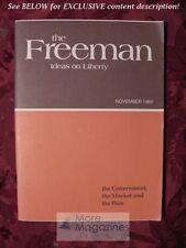 FREEMAN November 1980 David Osterfeld Kenneth McDonald Robert Bearce G. Anderson
