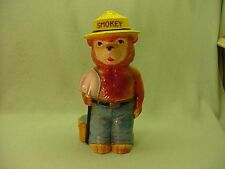 Smokey bear Ceramic Coin Bank Japan BK 42