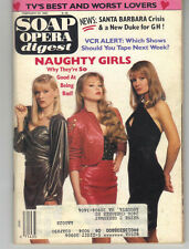 Soap Opera Digest February 20, 1990 NAUGHTY GIRLS Cover