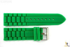 22mm Green Silicon Rubber Watch BAND Strap