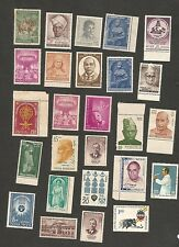 India collection of commemoratives MNH 100+