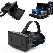 """VR Virtual Reality Magnet Control 3D Glasses for 3.5""""~6"""" iPhone Samsung phone"""