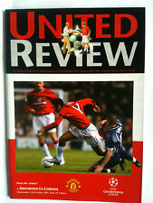 2001/02 Manchester United v Deportivo La Coruna Champions League Group G