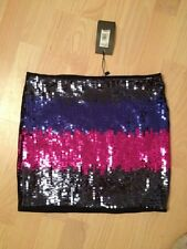 ARMANI EXCHANGE MULTICOLOURED SEQUINED SKIRT MEDIUM NEW WITH TAGS