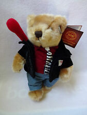 Hard Rock Cafe Gambler Las Vegas Teddy Bear Plush 2010 Numbered 1500 Herrington