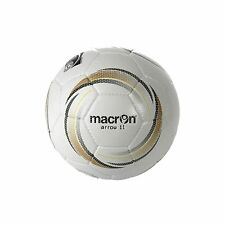 MACRON ARROW 11 MATCH BALLS - SET OF 9 - WHITE/GOLD/BLACK - SIZE 4