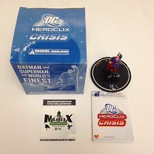 Heroclix Crisis set World's Finest #061 Limited Edition figure w/card!