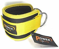 Top Gym YELLOW Ankle/Foot Strap Multi Gym Cable Machine Attachment - Single